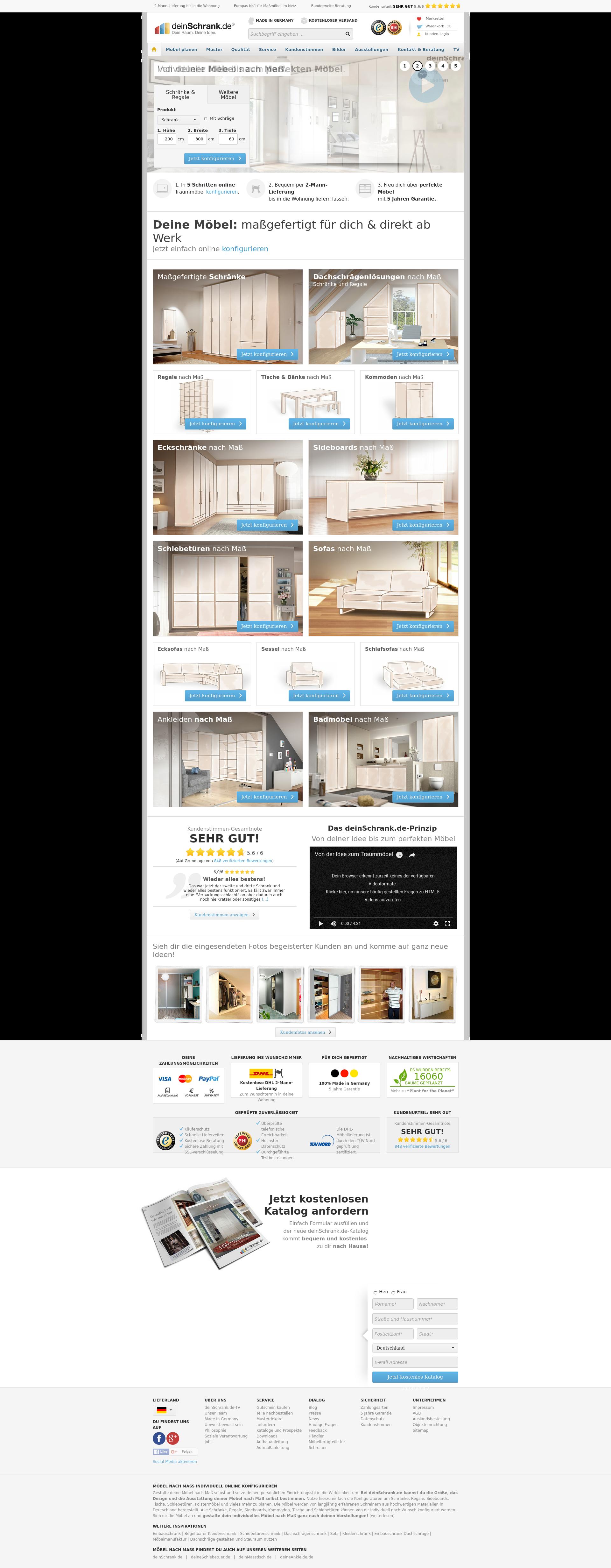 dein schrank erfahrungen best khles dein schrank. Black Bedroom Furniture Sets. Home Design Ideas