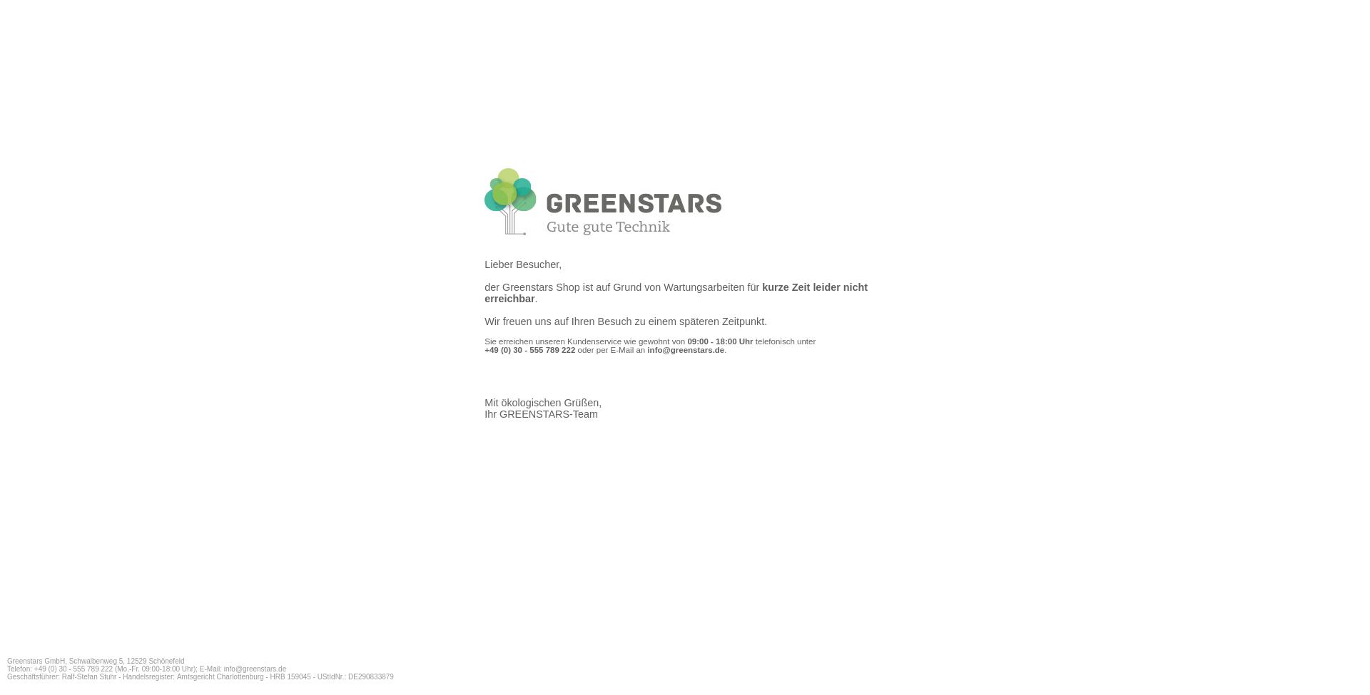 Greenstars