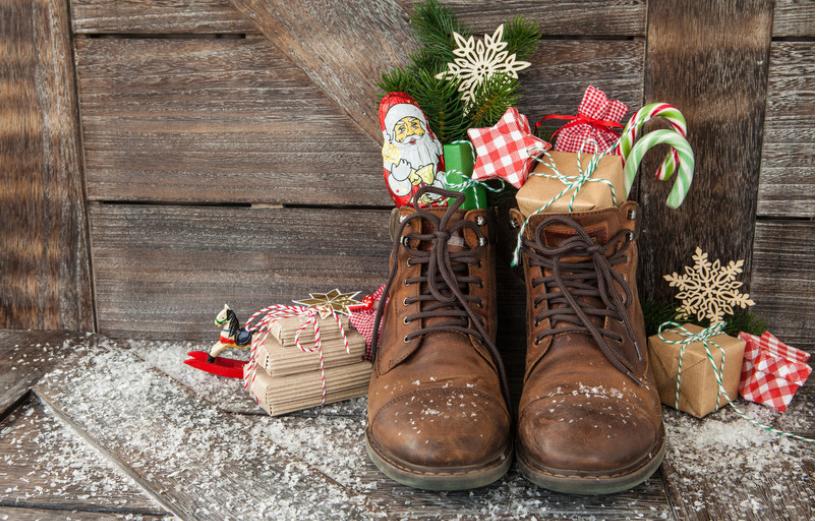 Nikolausgeschenke oder: Was kann ich den Stiefel tun?