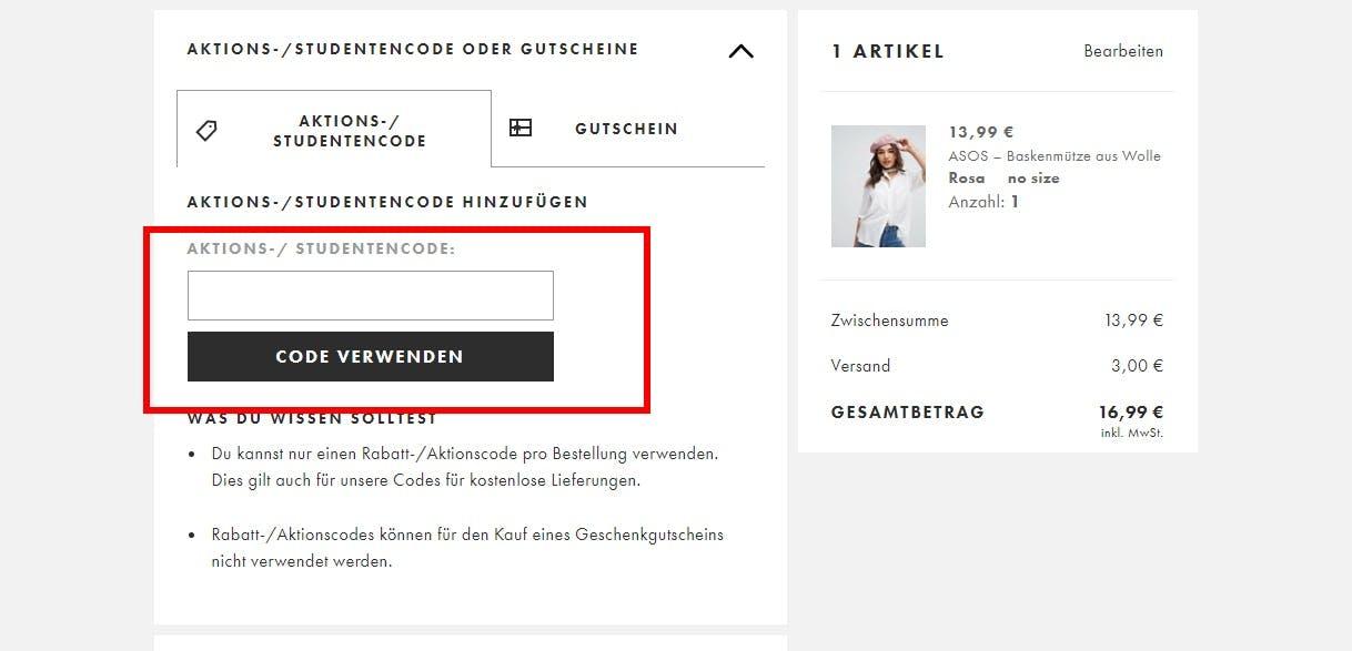 Asos Gutschein 10 Rabatt Juni 2019