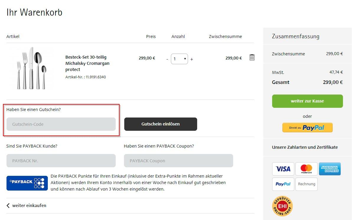 ≫ WMF Gutschein • 90€ Rabatt • Oktober 2018