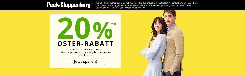 P&C 20% Gutschein