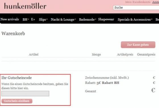 6f4fd7dd9e ≫ Hunkemöller Gutschein • 15% Rabatt • Juli 2019
