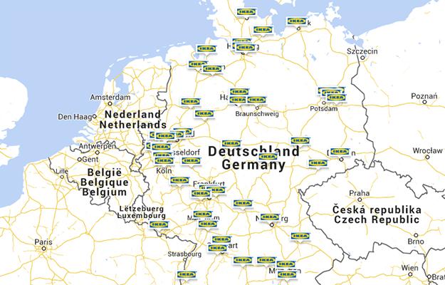 Ikea Standorte Karte