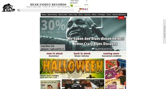 Bear Family Records Store