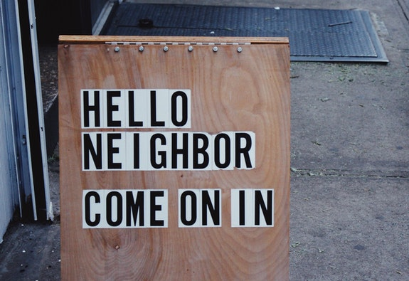 Nachbarschafts-Community: Sharing is Caring