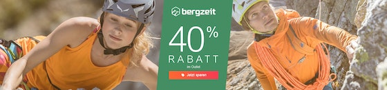 Bergzeit: 40% im Outlet