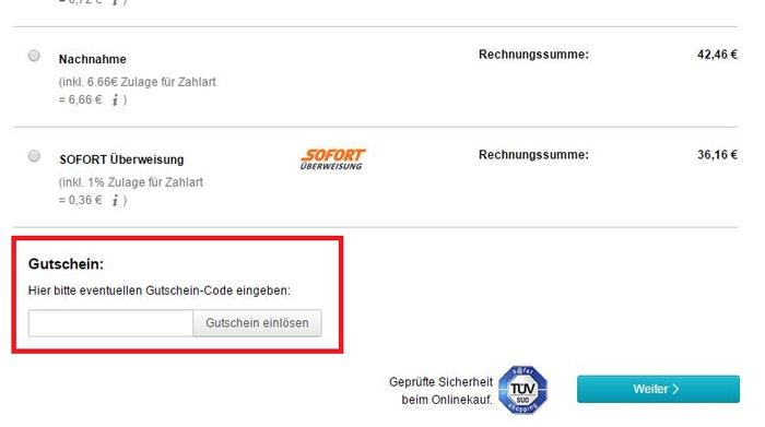 Gutscheincode für reuter.de