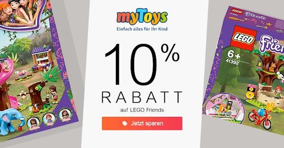 mytoys: 10% auf Lego