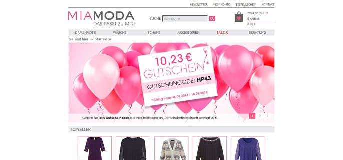 Mia Moda Gutschein 60 Rabatt März 2019