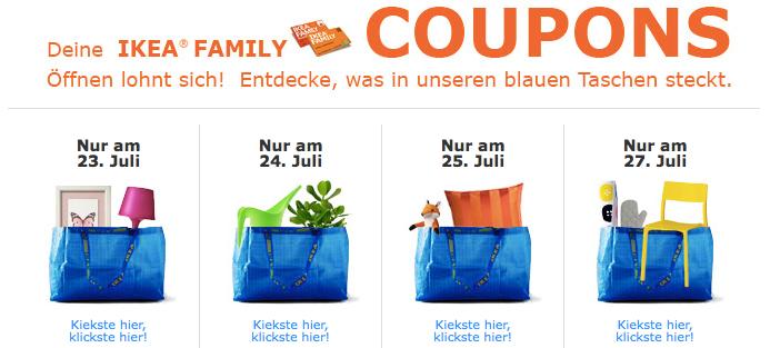 Besonders Schön Und Günstig Wird Der Einkauf Bei IKEA, Wenn Man Von Den  Verschiedenen Angeboten Gebraucht Macht.