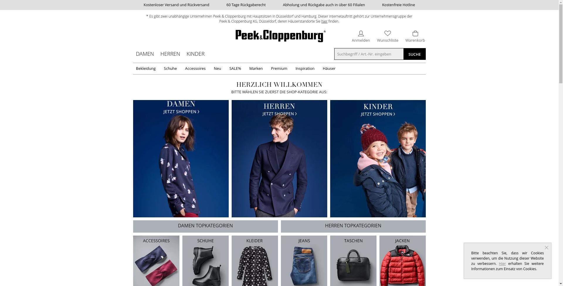 Peek & Cloppenburg*