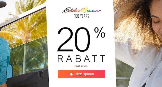 Eddie Bauer: 20%