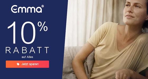 Emma: 10% Rabatt
