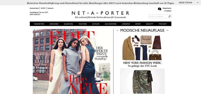 Net a porter gutschein top rabattcodes november 2017 for Net a porter usa