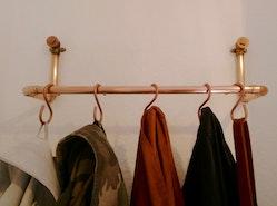 DIY: Kleiderstange aus Kupferrohren