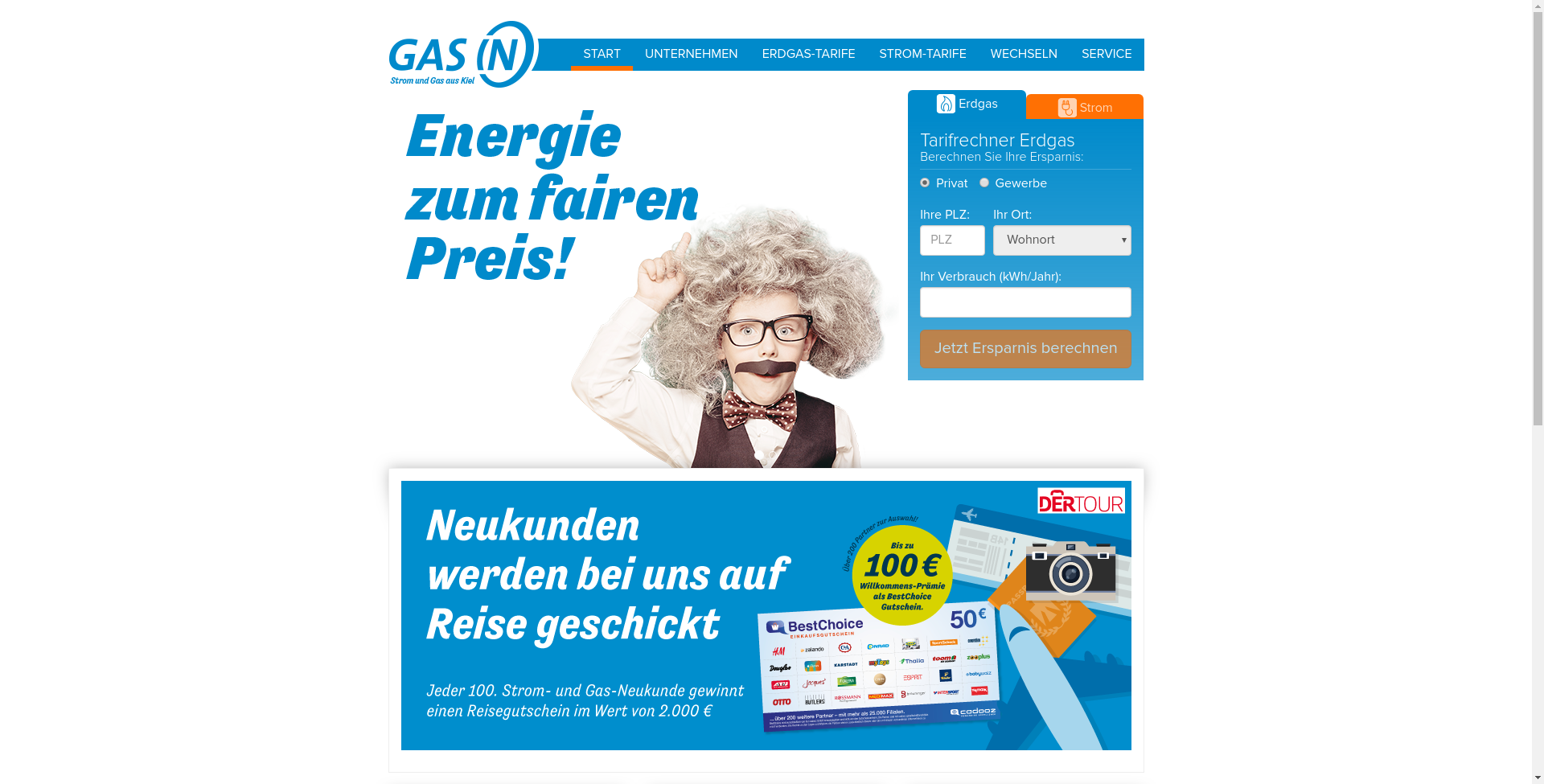 GAS IN