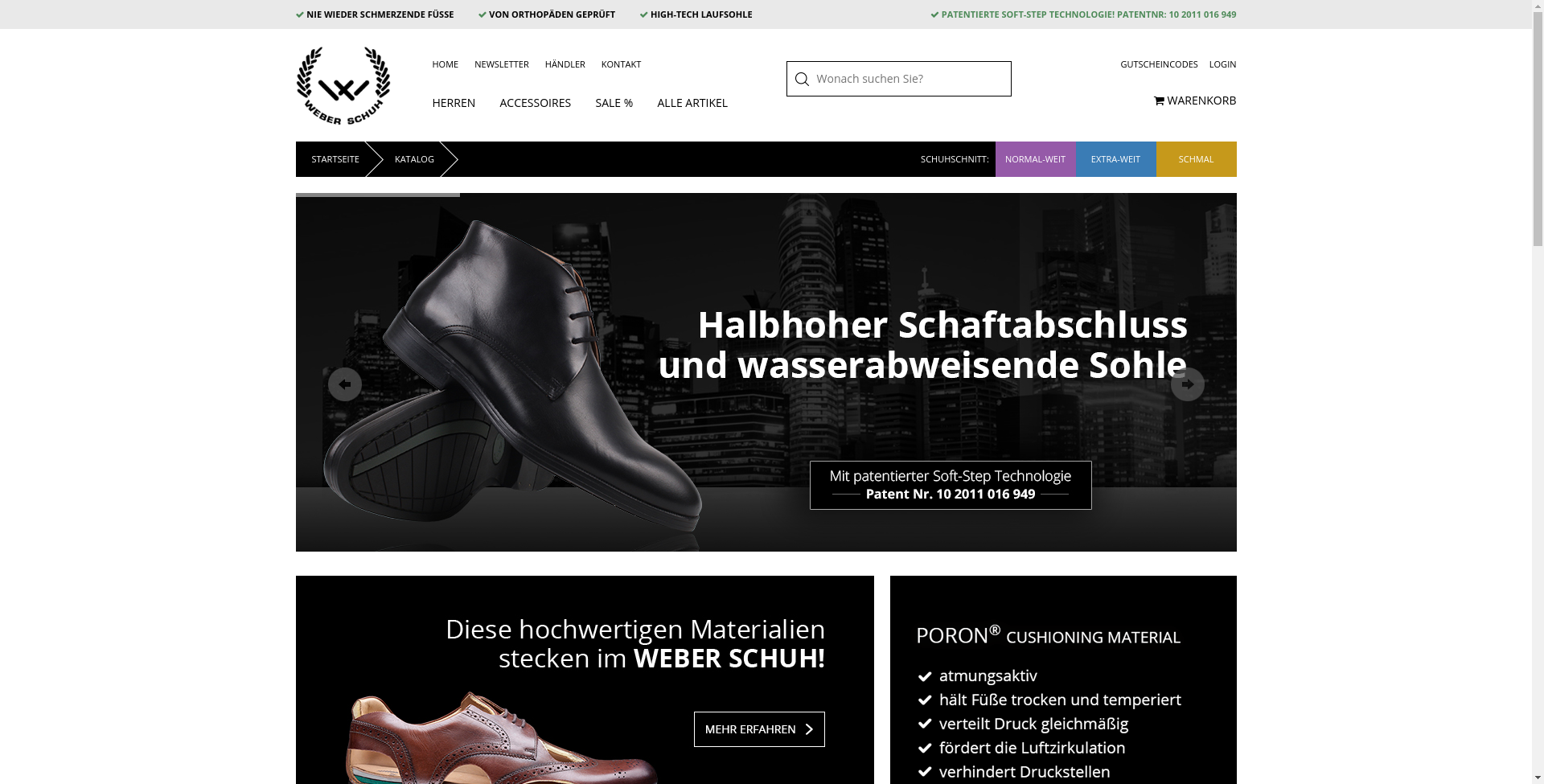 Weber Schuh