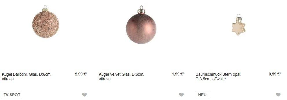 Galeria Kaufhof Christbaumkugeln.Gunstige Weihnachtsdeko Besinnliche Inspirationen