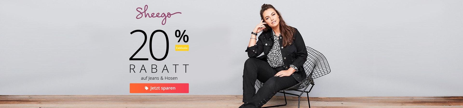 sheego: 20% auf Jeans
