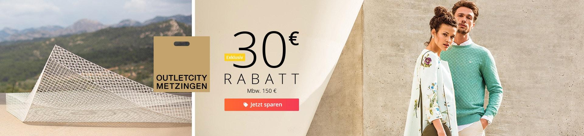 Outletcity 30 euro
