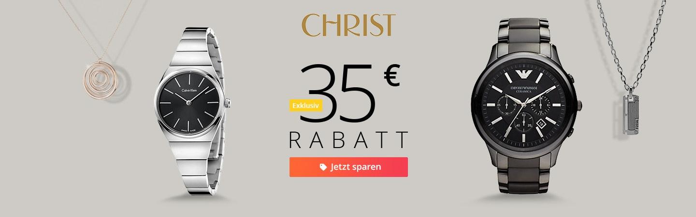 Christ: 35€ Rabatt - Runde 2