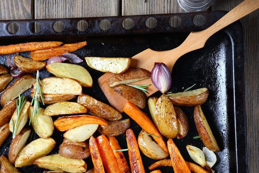 Ofengemüse: Eine Zeitübersicht für deine Gemüsesorten