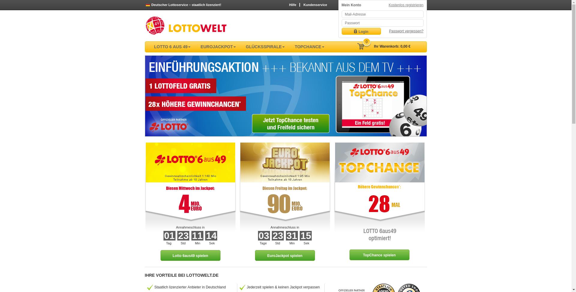 Lottowelt