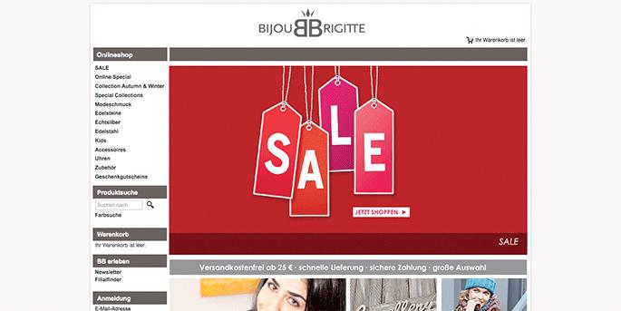 Bijou brigitte gutschein code