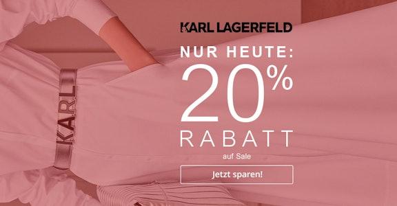 Karl: 20% auf Sale