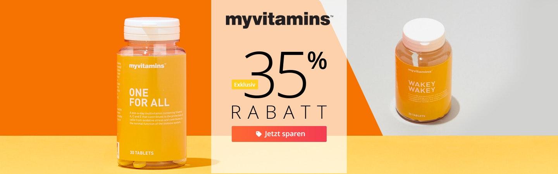 MyVitamins: 35% Rabatt
