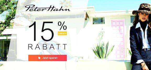 Peter Hahn: 15%