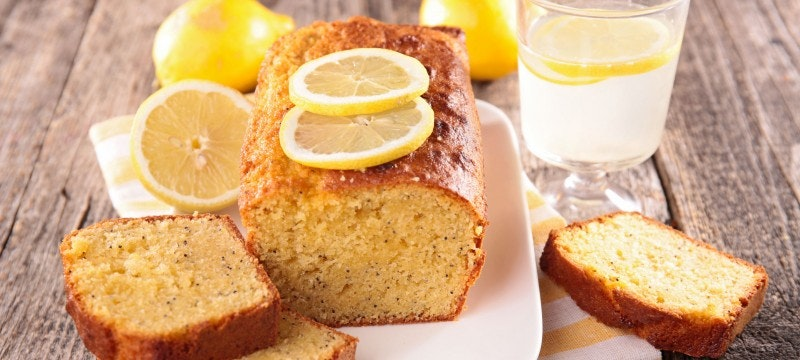 Super saftig: Zitronenkuchen