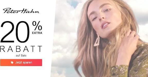 Peter Hahn: 20% auf Sale