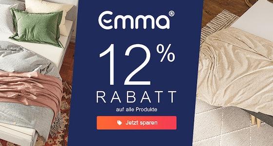 Emma: 12% Rabatt