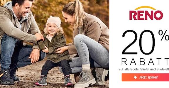 Reno: 20% Rabatt