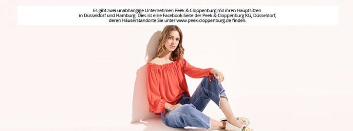 peek und cloppenburg gutscheine august 2019