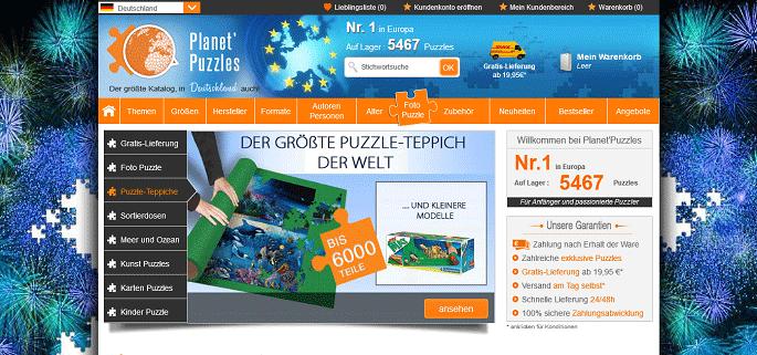Planet Puzzle Gutschein