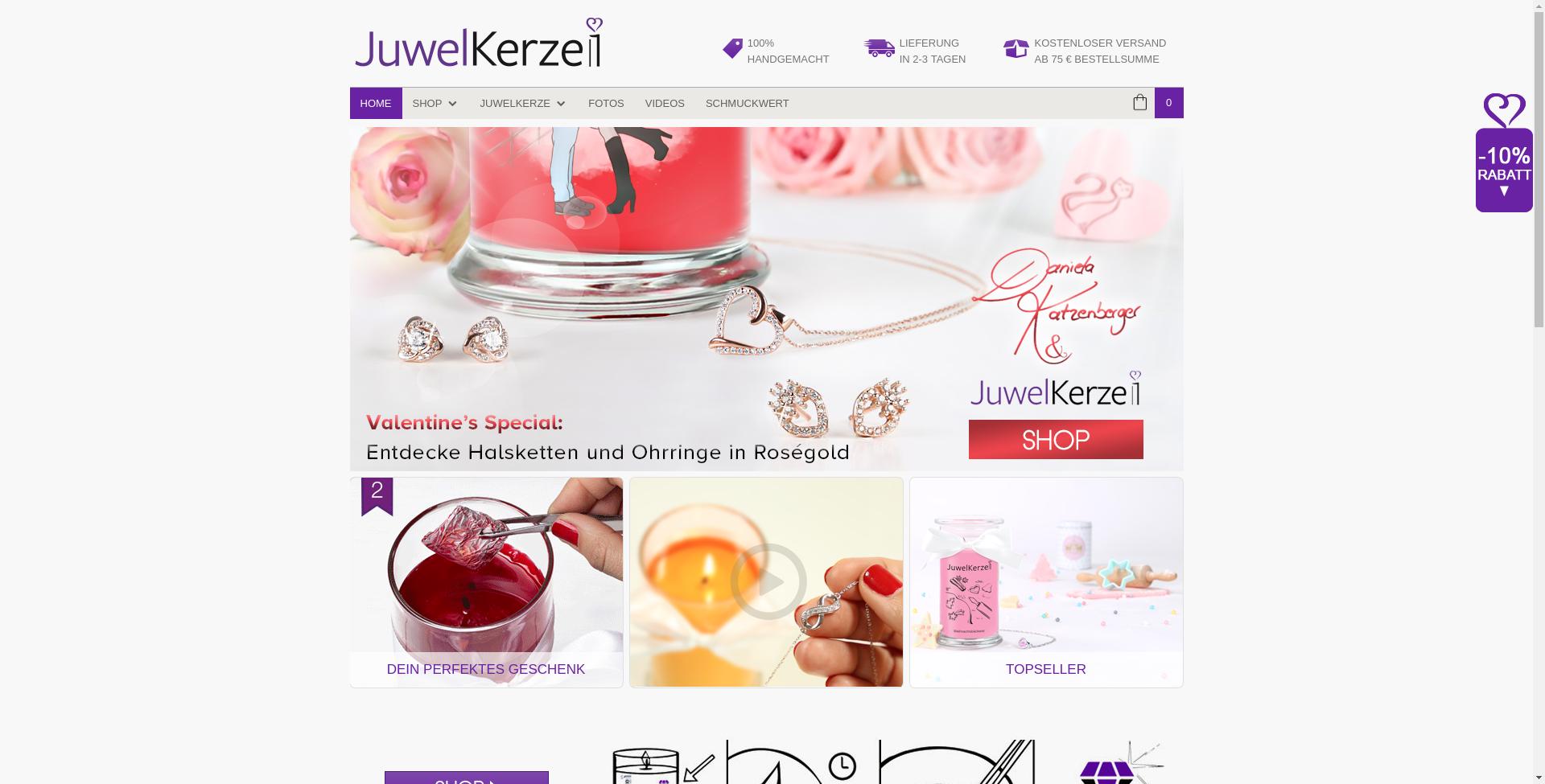 JuwelKerze