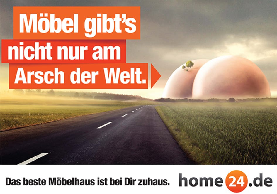 Home24 Werbung Kreativität Und Humor Home24de