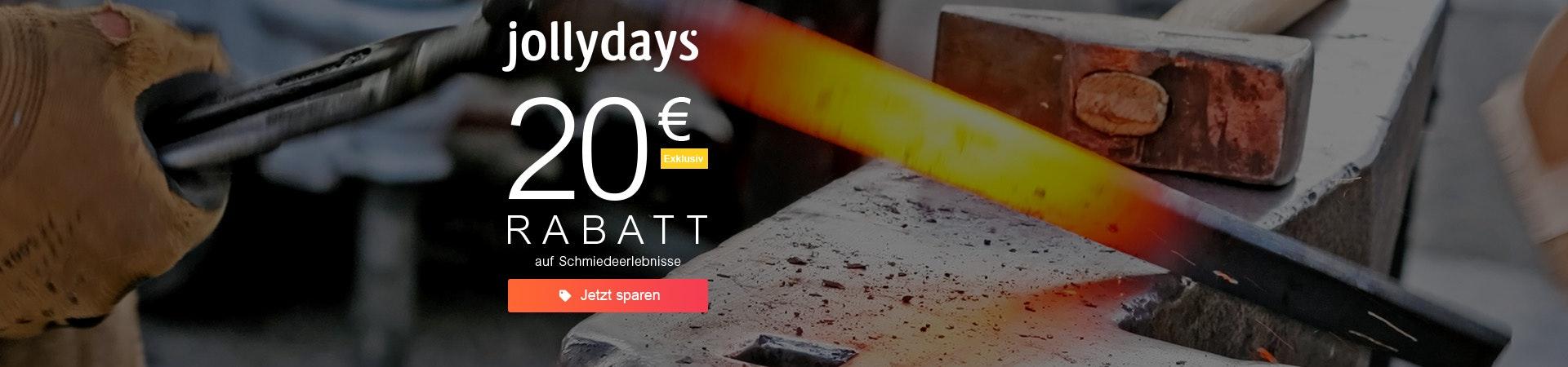 Jollydays: 20€ Rabatt