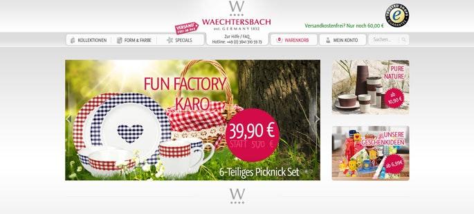 Waechtersbach Gutschein 25 Rabatt September 2020