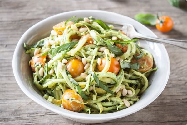 Low-Carb Zoodles & Co. mit dem Lurch-Spiralschneider