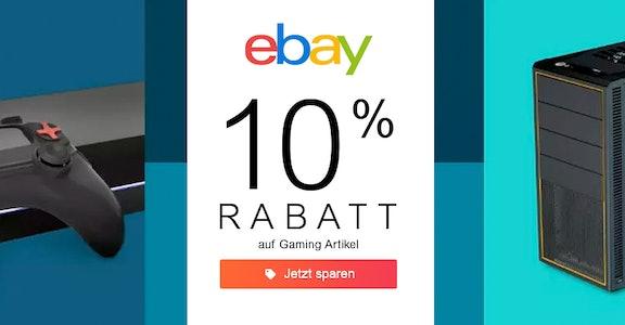 ebay: 10% auf Gaming
